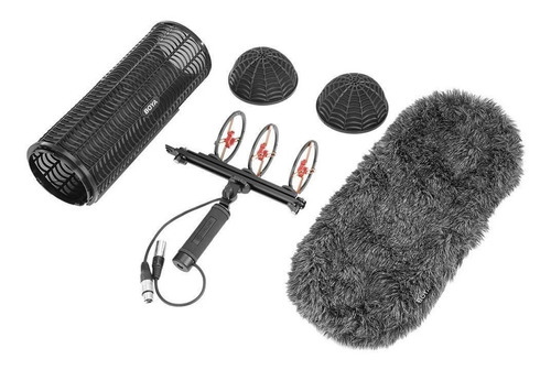 paravientos dead kitten suspension p/ microfono shotgun boya