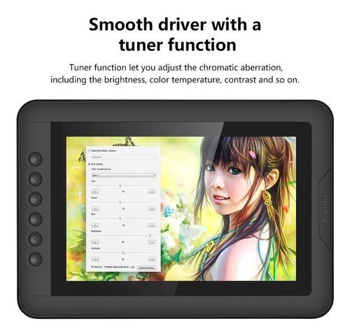 parblo mast10 - monitor de dibujo de tableta gráfica de 1