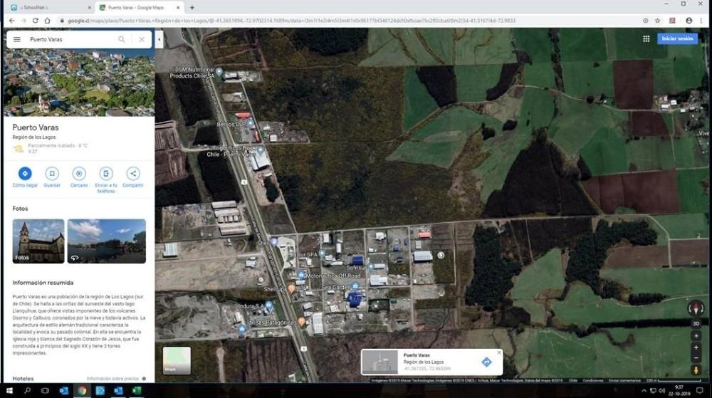 parcela agro industrial