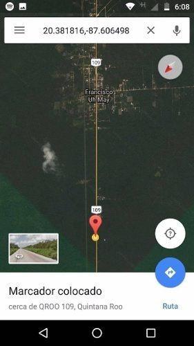 parcela de 9 has km²5 tulum cobá