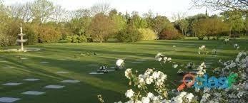 parcela en cementerio  jardín del castillo .
