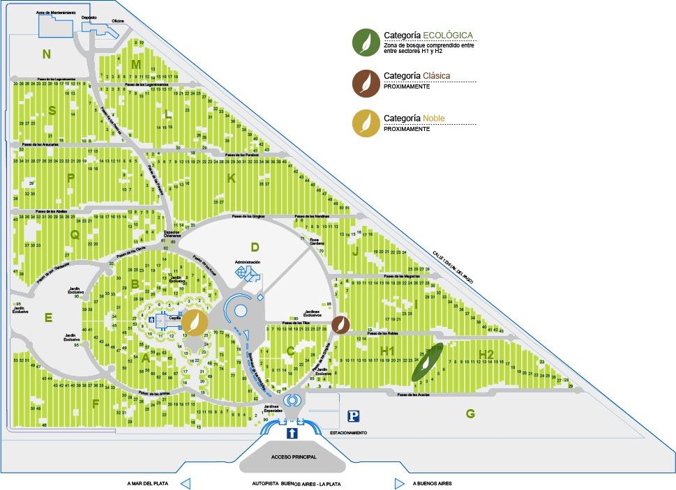 parcela en parque del campanario (colectora ruta 2 km.34.2)