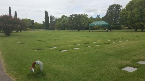 parcela en parque memorial, sector b