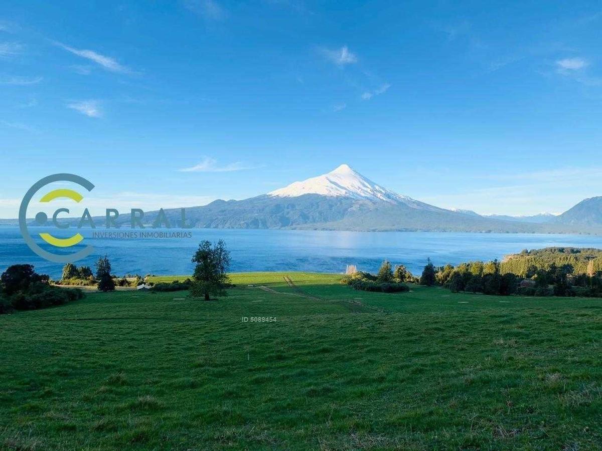 parcelas mejor vista al lago llanquihue y volcán osorno,