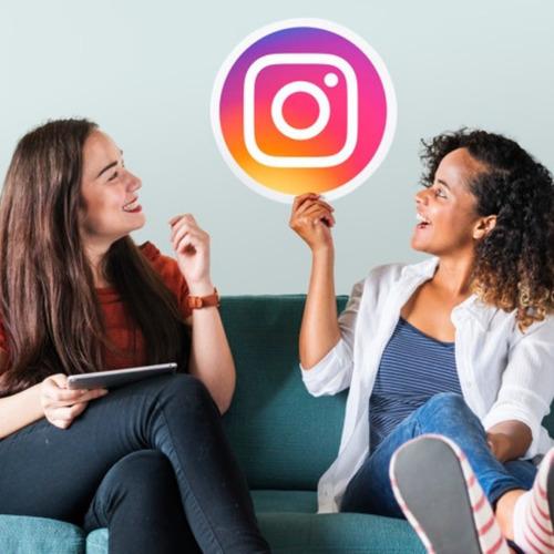 parceria no instagram