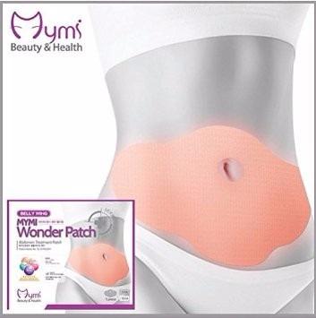parche adelgazante abdomen wonder patch 5 unidades