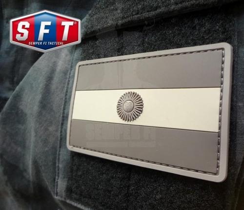 parche bandera argentina pvc baja visibilidad de s f t®