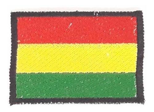 parche bandera bolivia bordado bandera boliviana