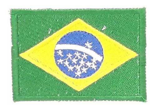parche bandera brasil