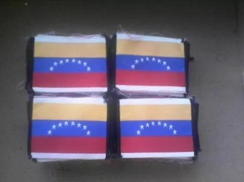 parche bandera de venezuela 8 estrellas 3 unidades