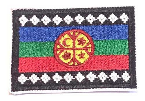 parche bandera mapuche
