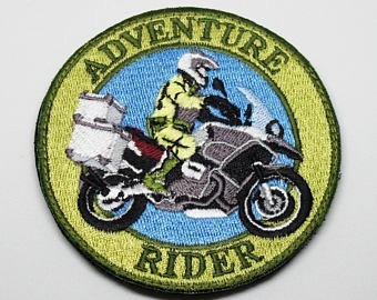 parche biker r1200gs adventure rider bmw
