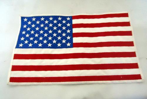 parche bordado bandera estados unidos usa e.e.u.u.