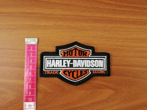 parche bordado emblema escudo harley motor trade cycles mark
