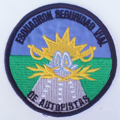 parche bordado - gendarmería