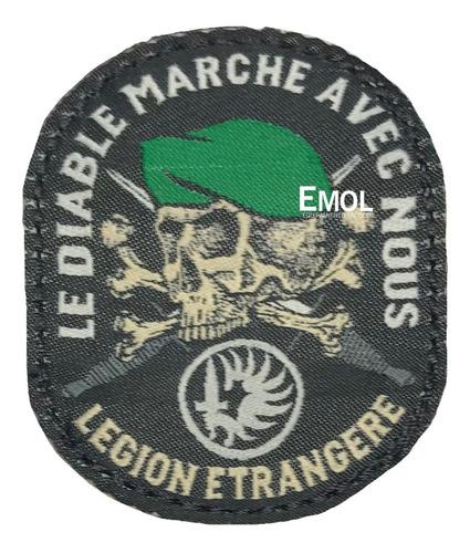 parche bordado legion extranjera alta calidad emol equipamie