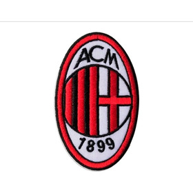 Parche Bordado Milan Ac. Parches Equipos De Fútbol