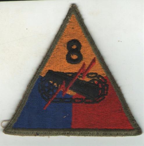 parche bordado nuevo u.s. air militar 8