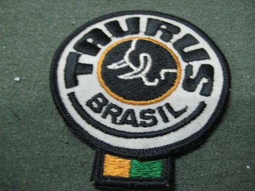 parche bordado revolver taurus brasil