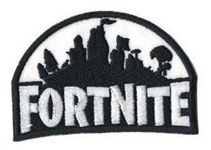 parche bordado video juego gamer fortnite  - varios modelos