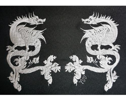 parche bordado yuu para ropa el narciso de gala