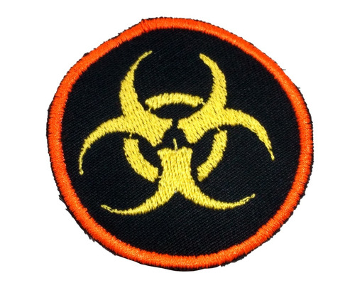 parche bordado zombie infectado invasion para coser 6 cm