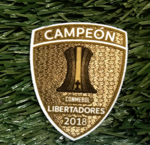 parche campeón copa libertadores 2018 original ( no replica)