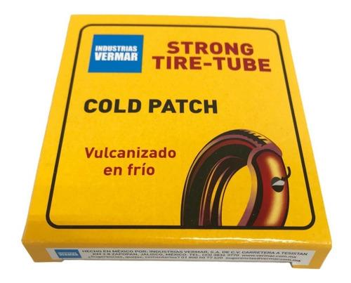 parche de bicicleta para llanta en frío 2 cajas de 24 pzs