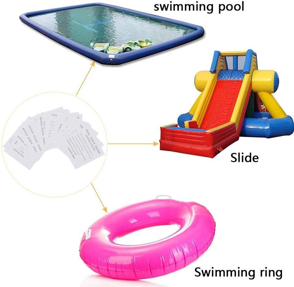 boyas piscinas 20 piezas de TPU transparente reparaci/ón parche para camas inflables juguetes colchones