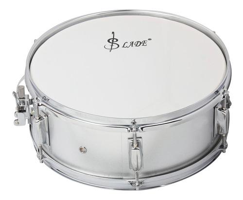 parche de tambor de batería profesional de 14 in c/baqueta