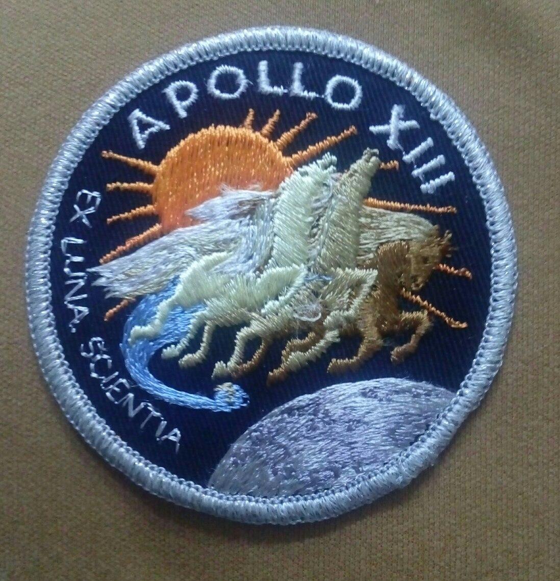 Parche Emblema Nasa Apollo 13 Mision Espacial