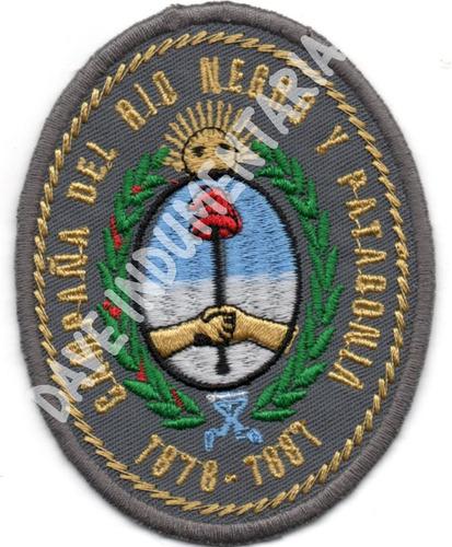 parche escudo combate rio negro y patagonia