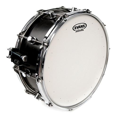 parche evans 14 tambor redoblante  hd dry + resonant hazy300