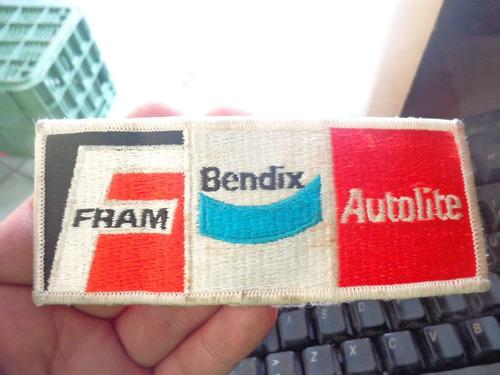 parche fram autolite bendix bordado