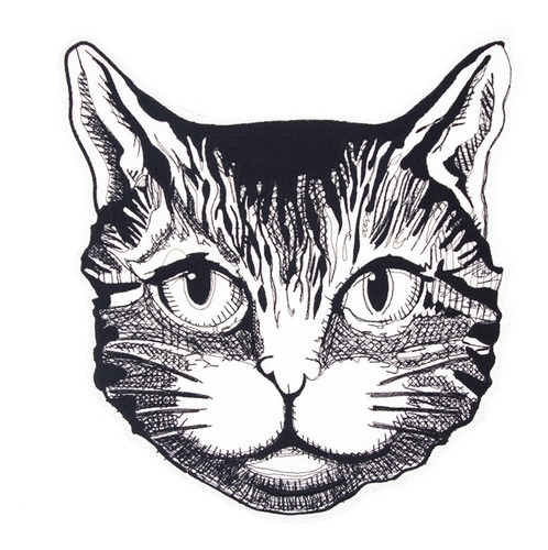 parche gato bordado zenkir moda tipo gucci