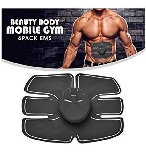 parche gimnasia pasiva six abdomen beauty body mobile gym