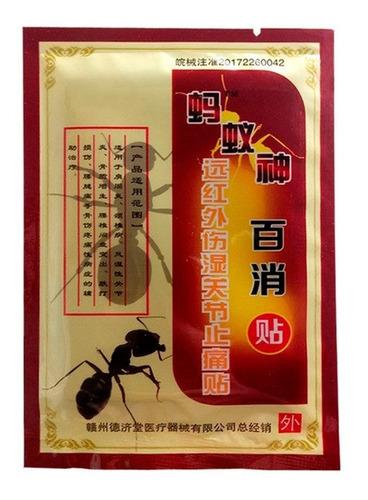 parche hormiga negra artritis articulación dolor reumatismo
