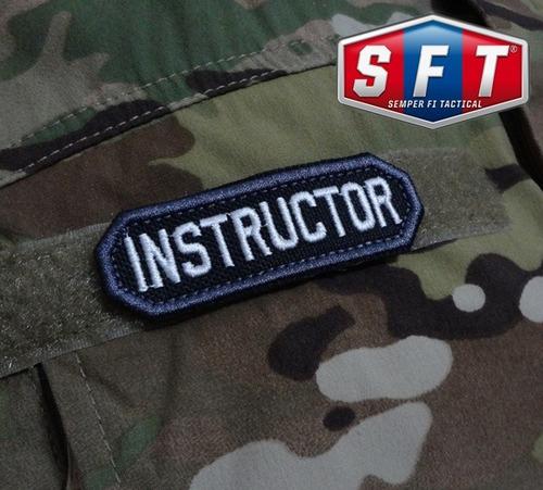 parche instructor swat de semper fi tactical®