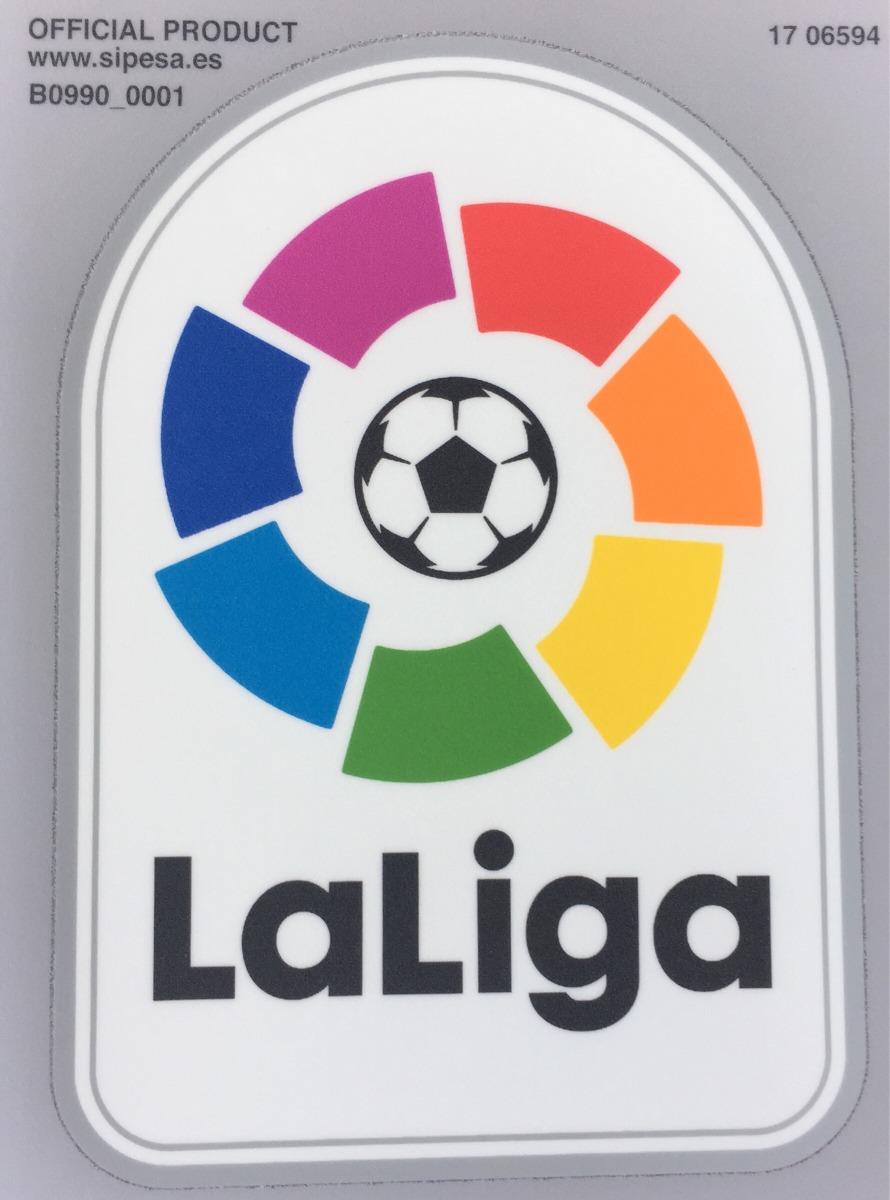 disponibilidad en el reino unido cupón de descuento famosa marca de diseñador Parche La Liga Española Sipesa Soorting Barcelona Madrid