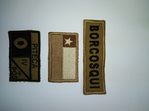 parche militar apellido de combate ejercito
