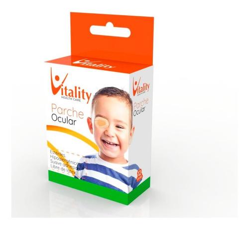 parche ocular infantil vitality  x 12 unidades esteriles