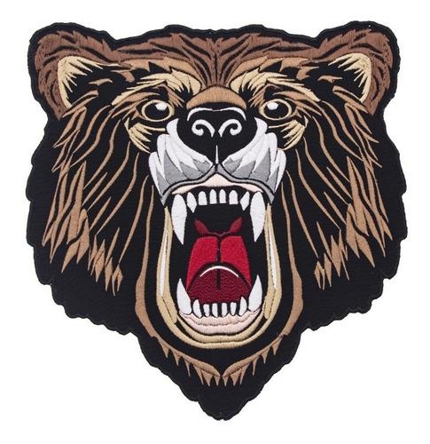 parche oso bordado zenkir moda tipo gucci