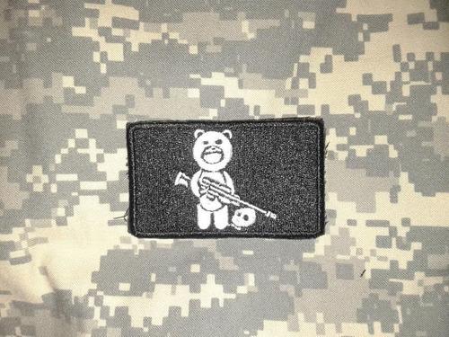 parche oso sniper o francotirador