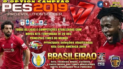 parche pes 2019 ps4 junio 2019 licencias clubes escudos