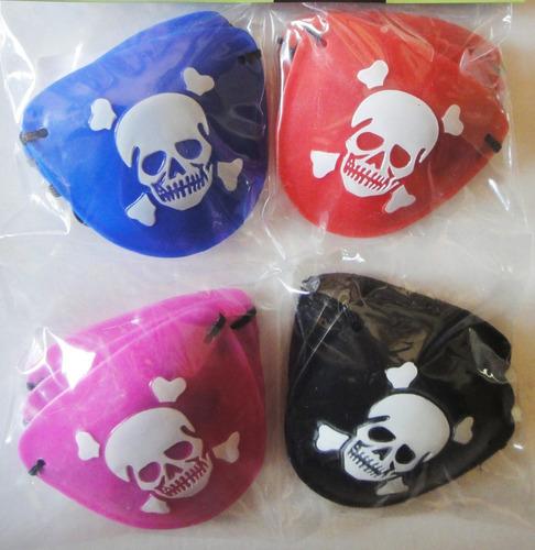 parche pirata fiesta jake calavera calaca regalo disfraz