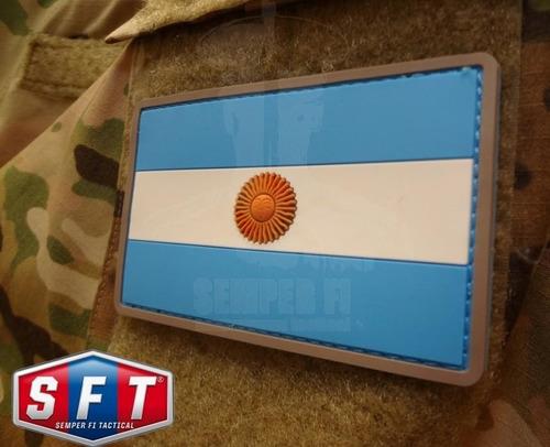 parche pvc bandera argentina de semper fi tactical®