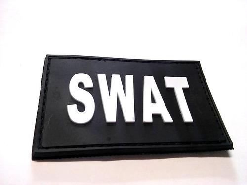 parche pvc goma swat patch tactico militar