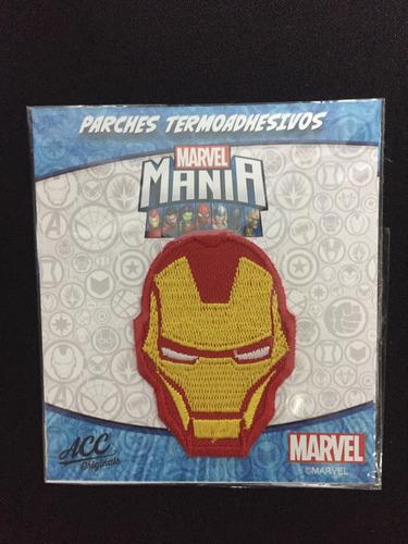 parche termo transferible marvel iron man accoriginals