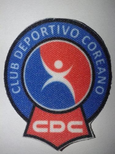 parche termoadhesivo escudo de deportivo coreano