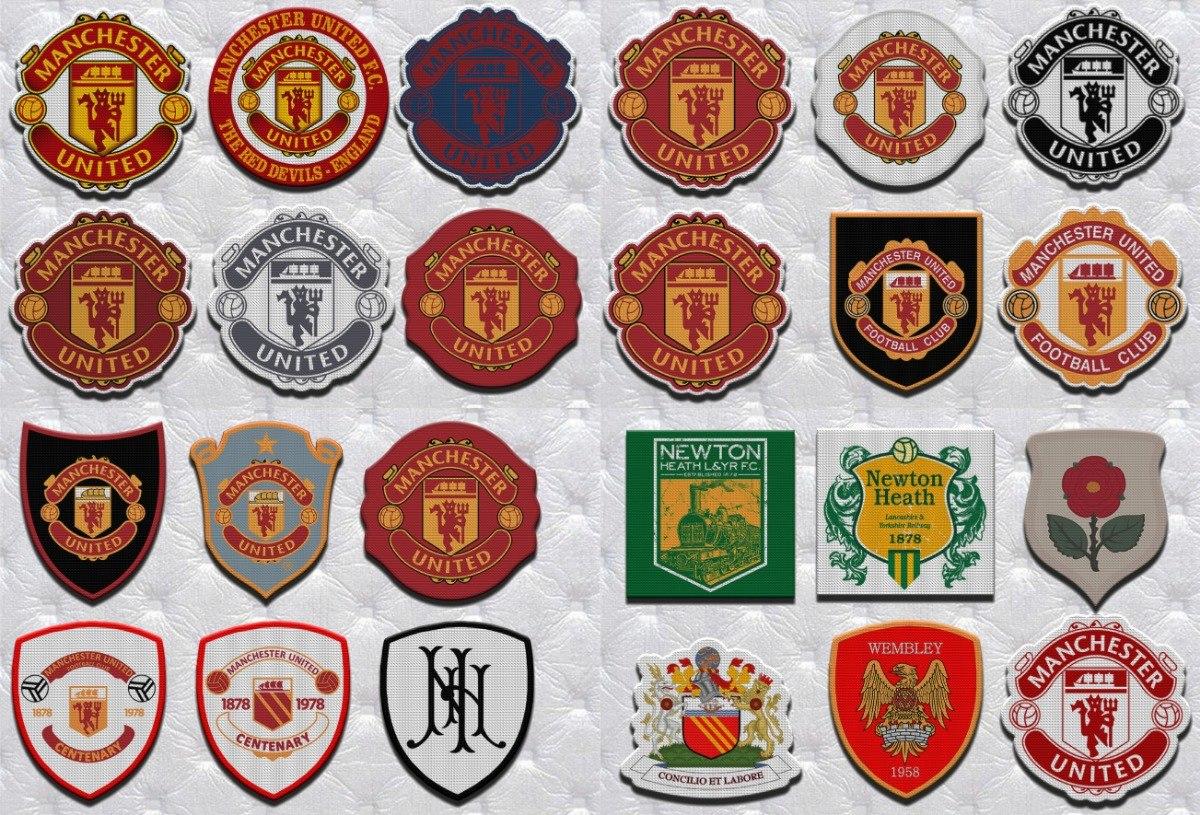 Parche Termoadhesivo Escudo De Manchester United Inglaterra